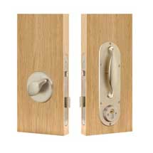 Anti-ligature Locksets