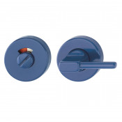 Hoppe Nylon Disabled Bathroom Turn & Release - Cobalt Blue RAL5002