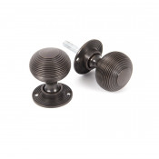 From The Anvil Beehive Heavy Knob Set - Aged Bronze