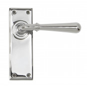 From The Anvil Newbury Latch Handles - Polished Chrome