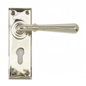 From The Anvil Newbury Euro Handles - Polished Nickel