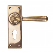 From The Anvil Newbury Euro Handles - Polished Bronze