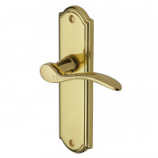 M.Marcus Howard Latch Handles - Polished Brass