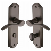 M.Marcus Howard Bathroom Handles - Matt Bronze