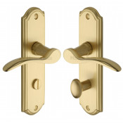 M.Marcus Howard Bathroom Handles - Satin Brass