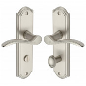 M.Marcus Howard Bathroom Handles - Satin Nickel