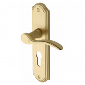 M.Marcus Howard Euro Handles - Satin Brass