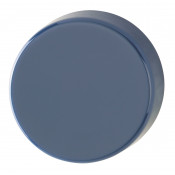 Hoppe Nylon Blank Escutcheon (pair) - Midnight (Dark) Blue RAL5003