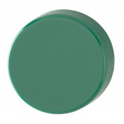 Hoppe Nylon Blank Escutcheon (pair) - Green RAL6016