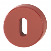 Hoppe Nylon Lever Key Escutcheon (pair) - Red RAL3003