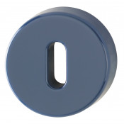 Hoppe Nylon Lever Key Escutcheon (pair) - Midnight (Dark) Blue RAL5003