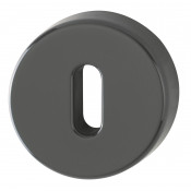 Hoppe Nylon Lever Key Escutcheon (pair) - Anthracite Grey RAL7016