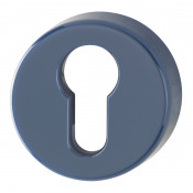 Hoppe Nylon Euro Profile Escutcheon (pair) - Midnight (Dark) Blue RAL5003