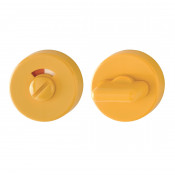 Hoppe Nylon Bathroom Turn & Release - Golden Yellow RAL1004
