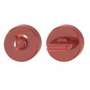 Hoppe Nylon Bathroom Turn & Release - Red RAL3003