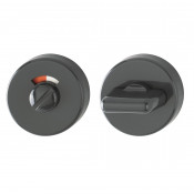 Hoppe Nylon Bathroom Turn & Release - Anthracite Grey RAL7016