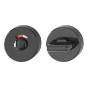 Hoppe Nylon Bathroom Turn & Release - Ebony Black RAL9017