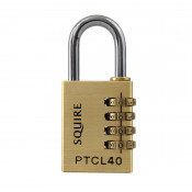 Squire Panther PTCL40 Combination Brass 40mm Padlock