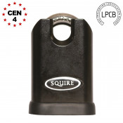 Squire Stronghold SS50CS Closed Shackle 50mm Padlock - Keyed Alike