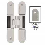Simonswerk Tectus TE340 3D FR Concealed Hinge for Fire Doors - Matt Nickel (F2)