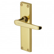 M.Marcus Victoria Latch Handles - Polished Brass