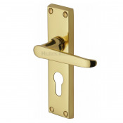 M.Marcus Victoria Euro Handles - Polished Brass
