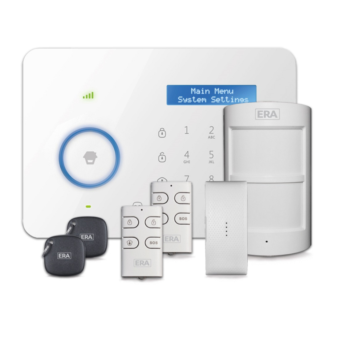 ERA Invincible (E11) Smartphone Communicating Wireless Alarm Kit