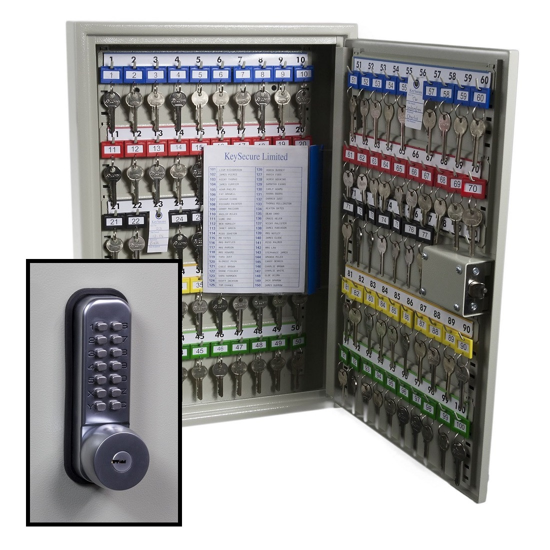 KeySecure Security Key Cabinet With Digital Lock With Key ...