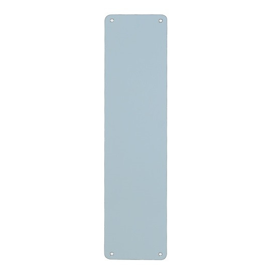 Stronghold Direct Finger Plate 450mm x 75mm - Satin Anodised Aluminium
