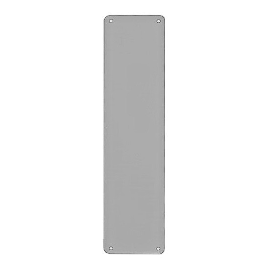 Stronghold Direct Finger Plate 330mm x 75mm - Grade 304 Satin Stainless Steel