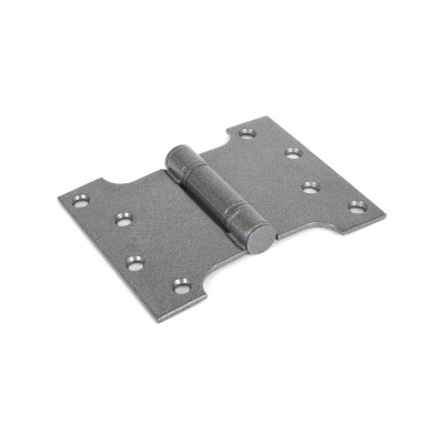 "From The Anvil 4"" x 3"" x 5"" Parliament Butt Hinges (pair) - Pewter"