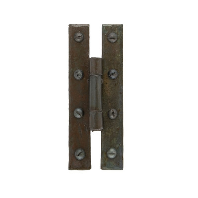 "From The Anvil 3.25"" 'H' Hinges (pair) - Beeswax"
