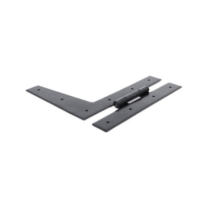 "From The Anvil 9"" 'HL' Hinges (pair) - Black"