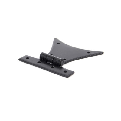 From The Anvil Large Half Butterfly Hinges (pair) - Black