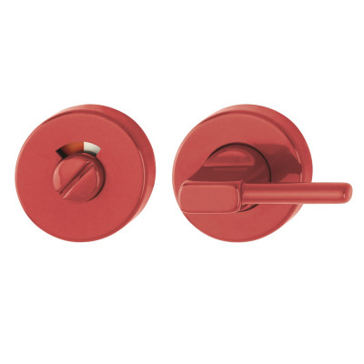 Hoppe Nylon Disabled Bathroom Turn & Release - Red RAL3003