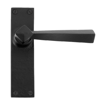 From The Anvil Straight Latch Handles - Black