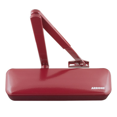 Arrone AR3500 EN2-4 Overhead Door Closer - Designer Cover - Claret (Burgundy) RAL3005