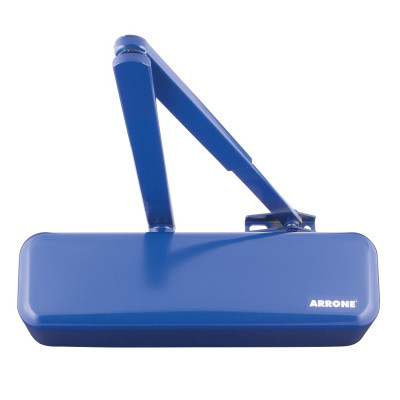 Arrone AR3500 EN2-4 Overhead Door Closer - Designer Cover - Cobalt Blue RAL5002