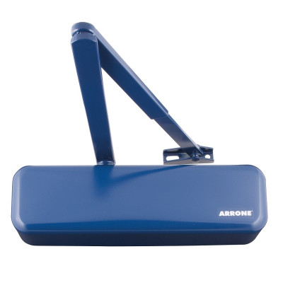 Arrone AR3500 EN2-4 Overhead Door Closer - Designer Cover - Midnight (Dark) Blue RAL5003