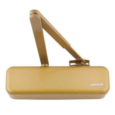 Arrone AR3500 EN2-4 Overhead Door Closer - Designer Cover - Gold