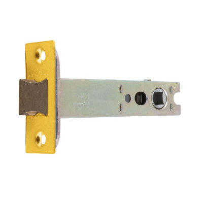 "Arrone AR8019 Heavy Duty Tubular Latch - 102mm (4"") Case - 82mm Backset - Dual Finish"