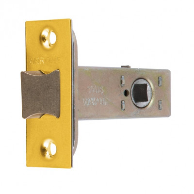 "Arrone AR8019 Heavy Duty Tubular Latch - 65mm (2.5"") Case - 44mm Backset - Dual Finish"