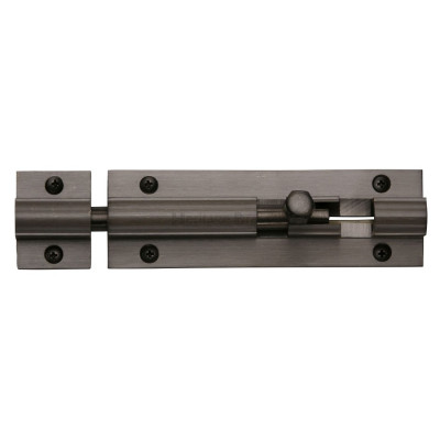 "M.Marcus Straight Door Bolt - 102mm (4"") - Matt Bronze"