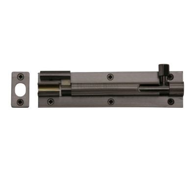 "M.Marcus Necked Door Bolt - 152mm (6"") - Matt Bronze"
