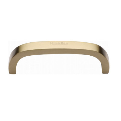 M.Marcus D Type Cabinet Pull 152mm - Satin Brass