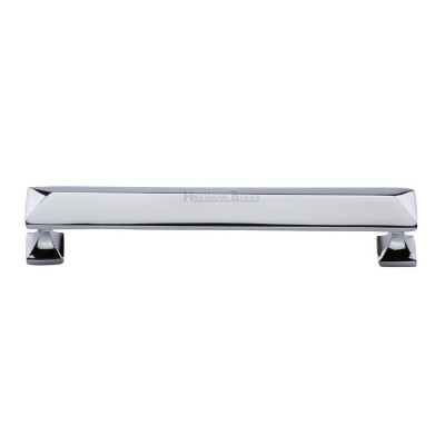 M.Marcus Pyramid Design Cabinet Pull 203mm - Polished Chrome