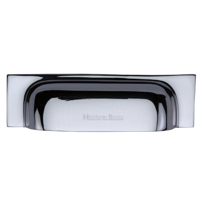 M.Marcus Cup Handle Drawer Pull 221mm - Polished Chrome