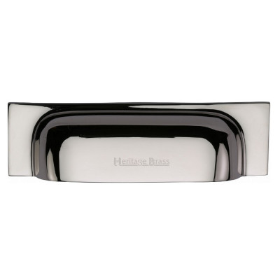 M.Marcus Cup Handle Drawer Pull 221mm - Polished Nickel