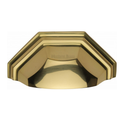 M.Marcus Drawer Pull 89mm - Polished Brass