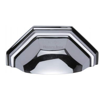 M.Marcus Drawer Pull 89mm - Polished Chrome